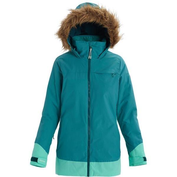 Burton Lelah green slate cockatoo 2020 chaqueta de snowboard de mujer