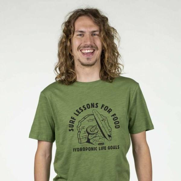 Hydroponic Surf Lessons cactus 2020 camiseta