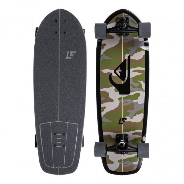 "Quiksilver LF Pro Skate 30"" Surfskate Completo"