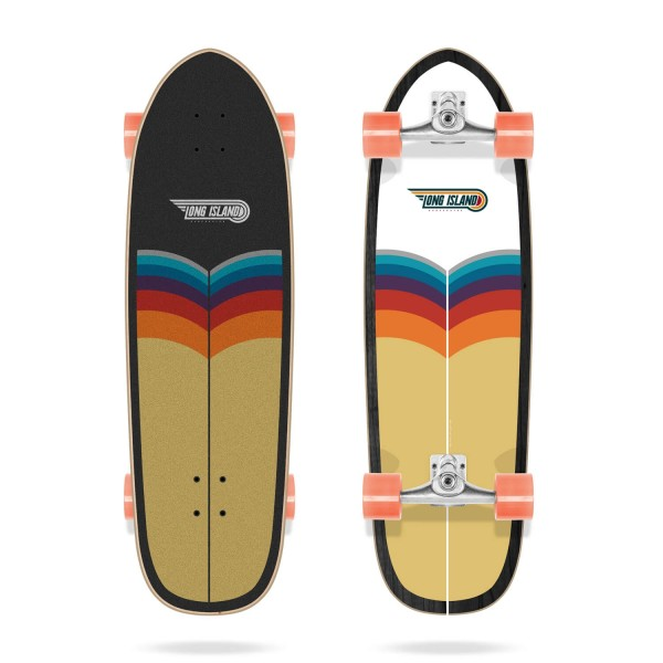 Long Island Trestles 34'' Surfskate completo