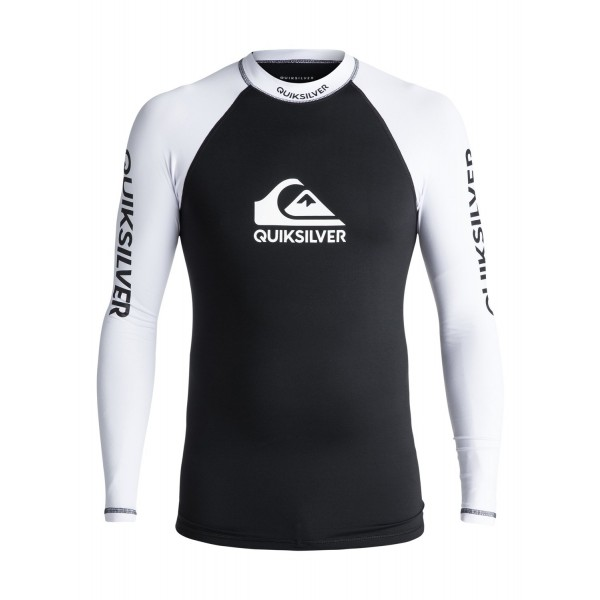 Quiksilver On Tour LS black licra de surf