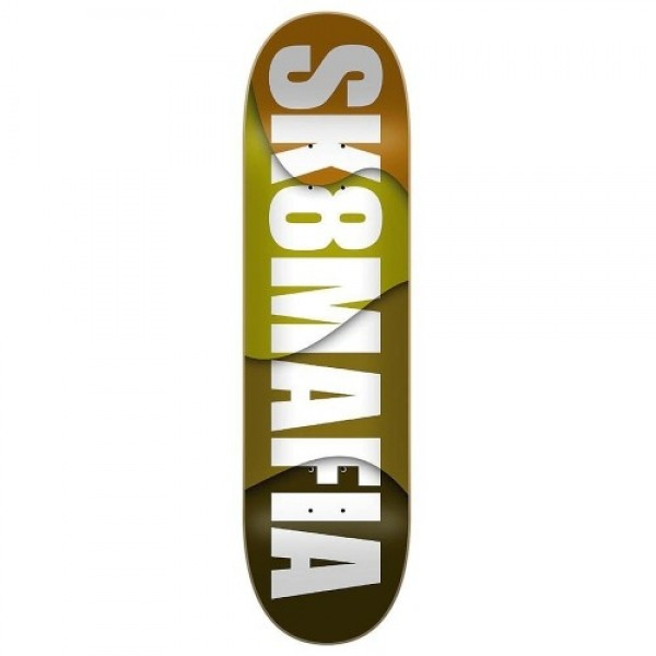 "Sk8mafia House logo Assorted Stains 8.25"" Tabla de skate"