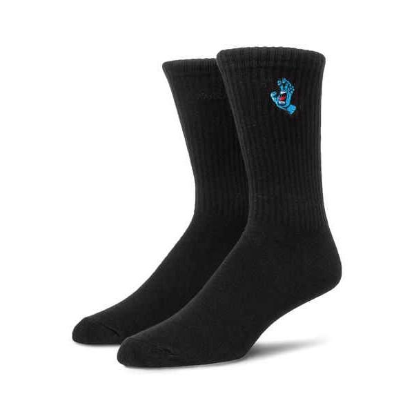 Santa Cruz Screaming mini hand black calcetines