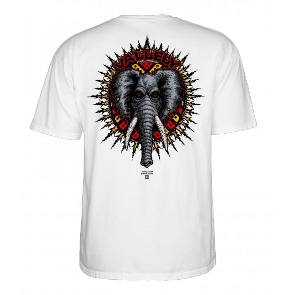 Powel Peralta Mike Vallely white 2020 camiseta