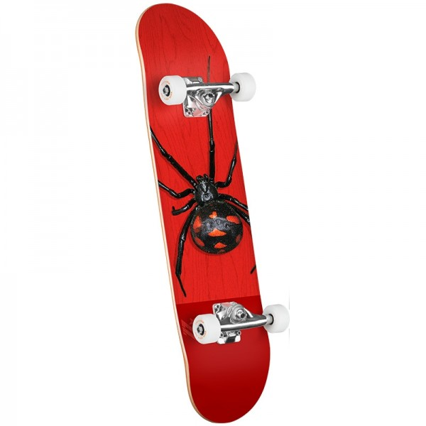 "Mini logo Birch ""16"" 291 K20 poison Black Widow 8'' skateboard completo"