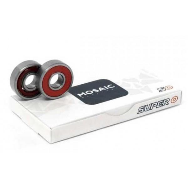 Mosaic Super 0 Abec 5 608RS red Rodamientos de skate