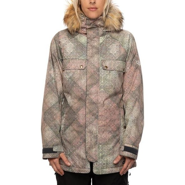 686 Dream insulated multi boho 2021 chaqueta de snowboard de mujer