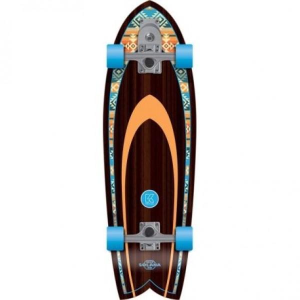"Flying wheels Solana Kruuze 32"" navajo Surfskate"