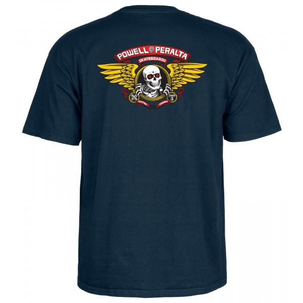 Powel Peralta Winged Ripper navy 2020 camiseta