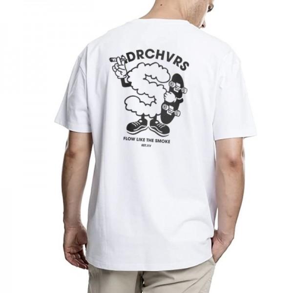 Hydroponic Band blue rose white 2020 camiseta