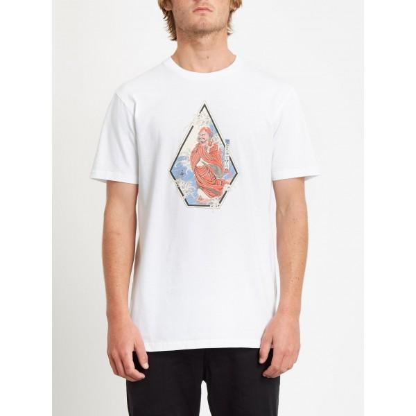 Volcom Nozaka surf white 2021 camiseta