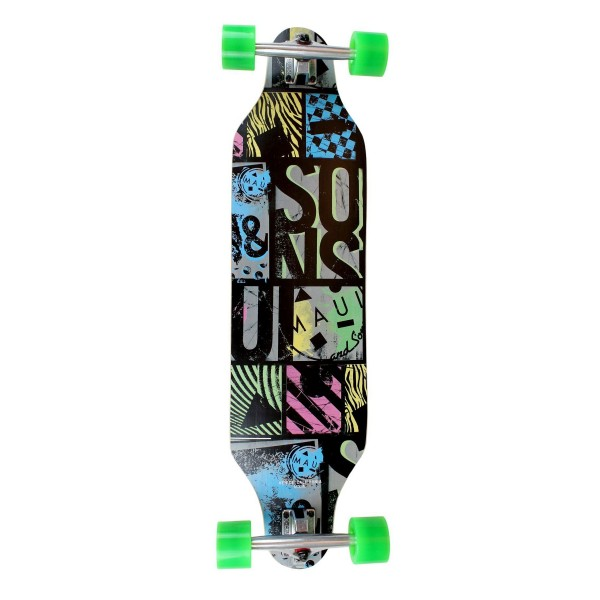 Maui & Sons Off The Grid Longboard completo