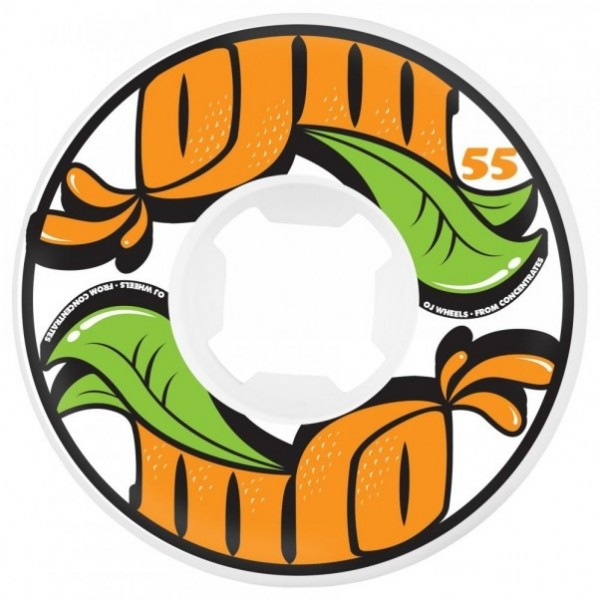 OJ Wheels Contrentrates Insaneathane 55mm ruedas de skate