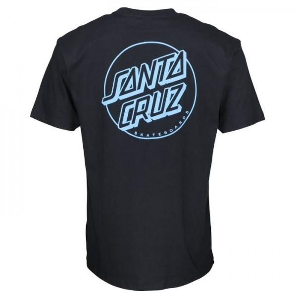 Santa Cruz Opus Dot Stripe black 2020 camiseta