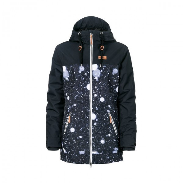 Horsefeathers Ofelia snowflakes 2020 chaqueta de snowboard de mujer