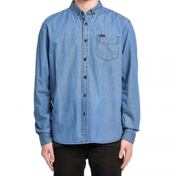 Globe Goodstock Oxford indigo 2021 camisa