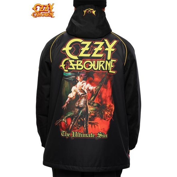 686 Ozzy insulated black 2021 chaqueta de snowboard