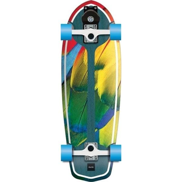 """Flying wheels Parrot 29"""" Surfskate"""