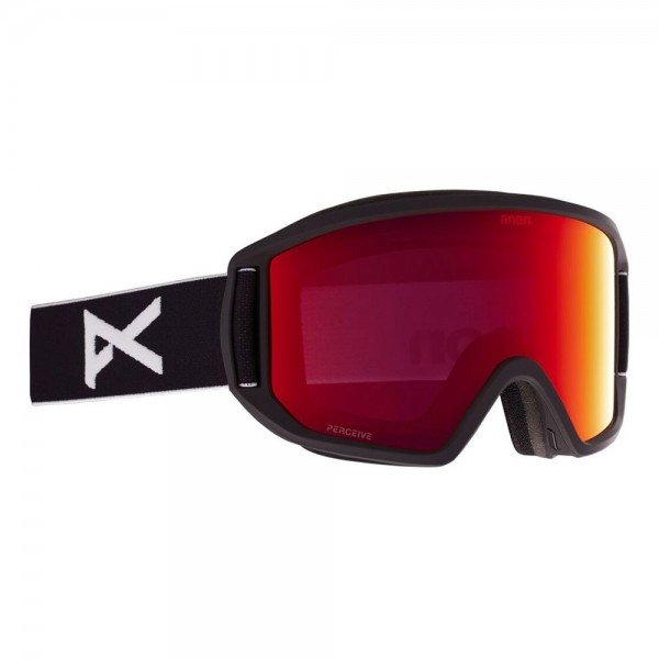 Anon Relapse black perceive sunny red 2021 gafas de snowboard