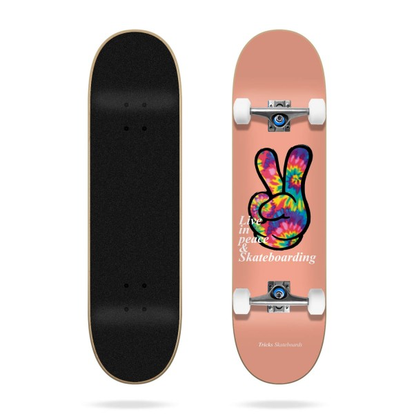 "Tricks Peace 7,75"" Skateboard completo"