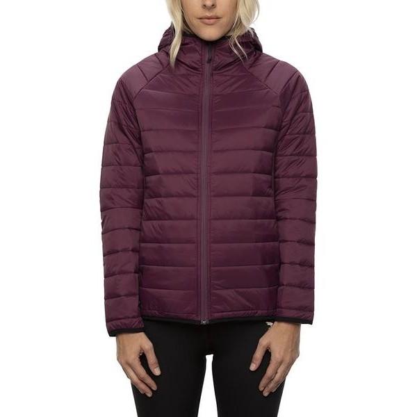 686 Thermal Puff plum 2021 chaqueta térmica de mujer
