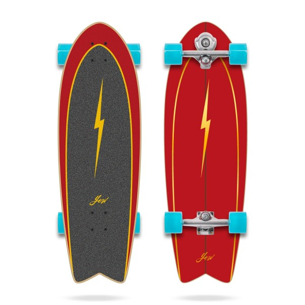 Yow Power surfing Pipe 32'' Surfskate completo