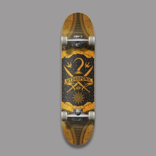Hydroponic Pirate 8,125'' skateboard completo