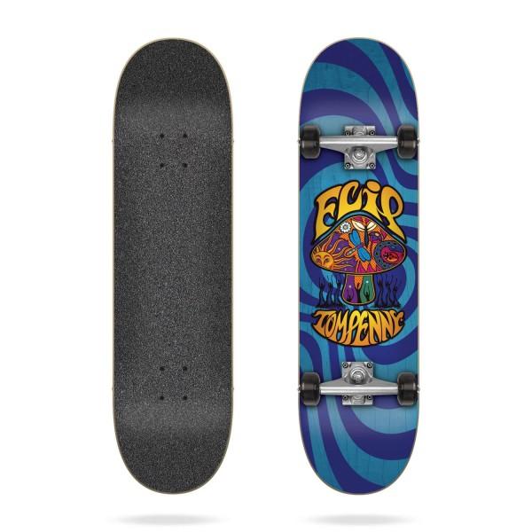 Flip Penny Loveshroom Blue 8.0″ Skateboard completo