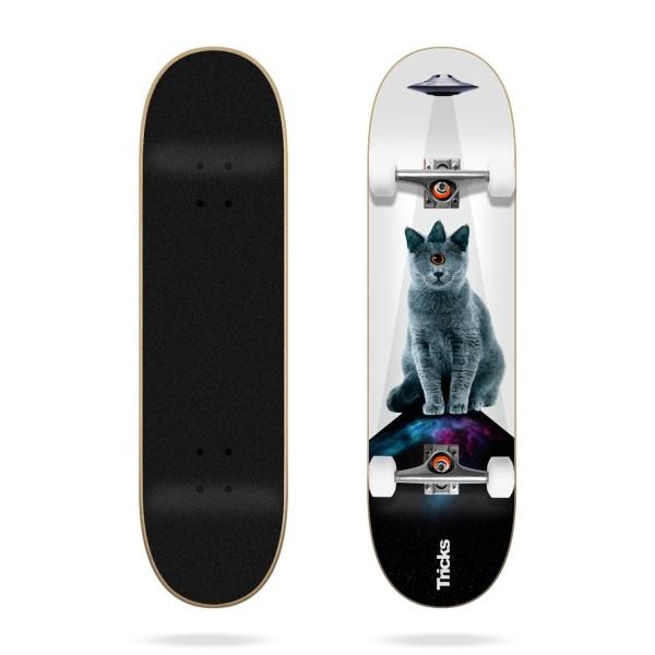 Tricks UFO 8.0'' Skateboard completo