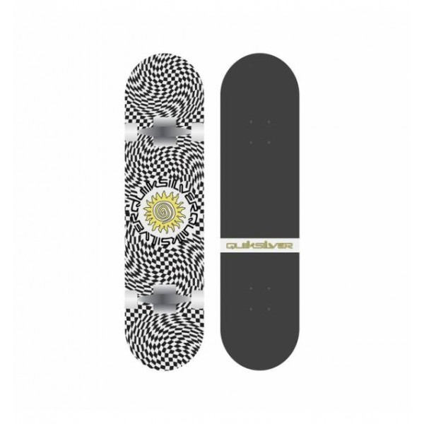 """Quiksilver Psyched 8"""" skateboard Completo"""