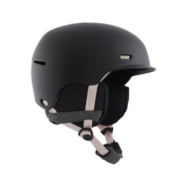 Anon Raven black mauve 2021 casco de snowboard de mujer
