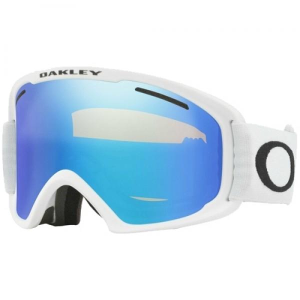 Oakley O frame Pro XM matte white / violet iridium 2021 gafas de snowboard