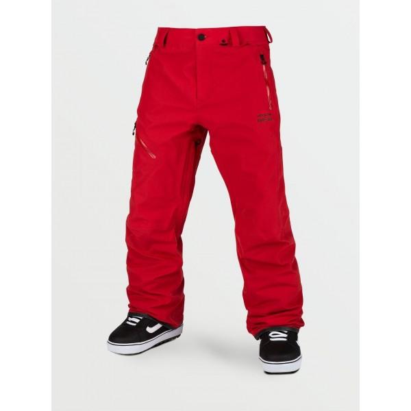 Volcom L Gore-tex red 2021 pantalón de snowboard