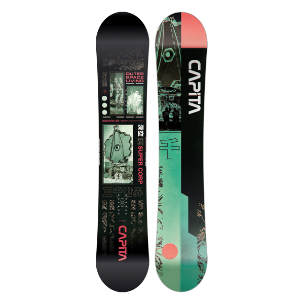 Capita Outerspace Living  2021 tabla de snowboard