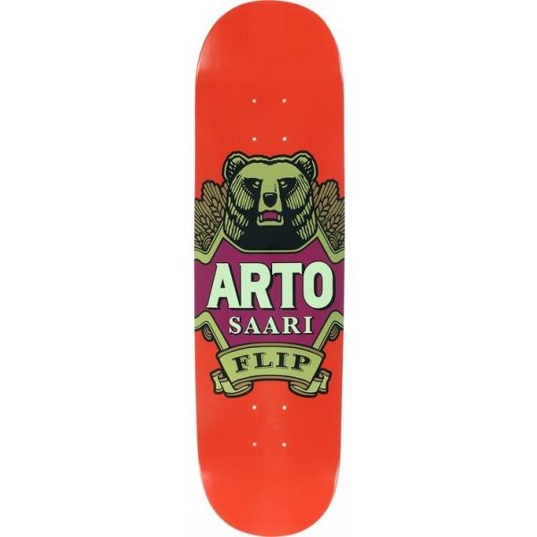 """Flip Saari Bear Label Red 8,25"""" Tabla de skate"""