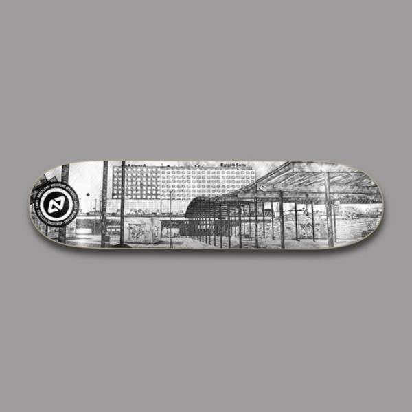 """Hydroponic Spot Sants 8"""" tabla skateboard"""