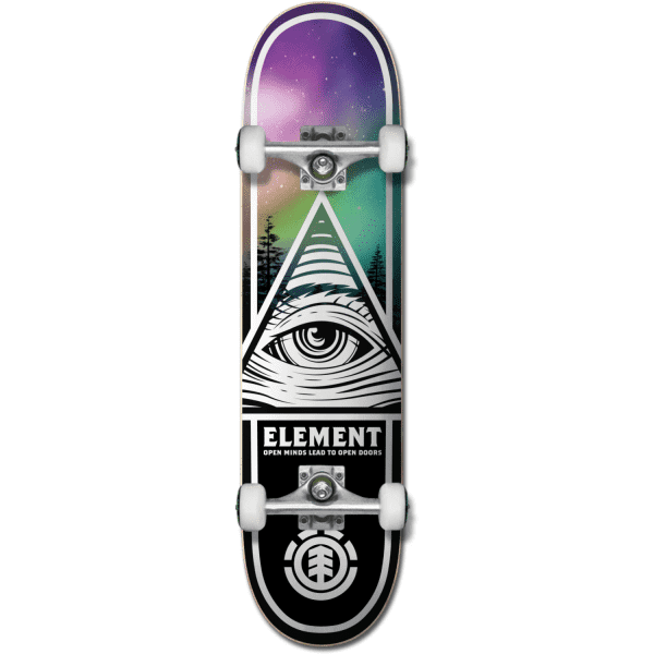 "Element Eye tripin boreal 8"" skateboard completo"