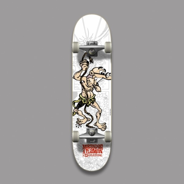 Hydroponic Mortadelo y Filemón Tarzan 7,5'' skateboard completo