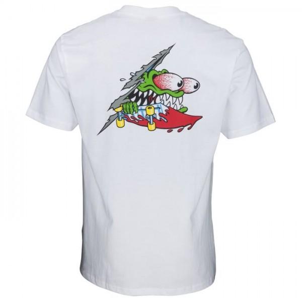 Santa Cruz Slashed white 2020 camiseta