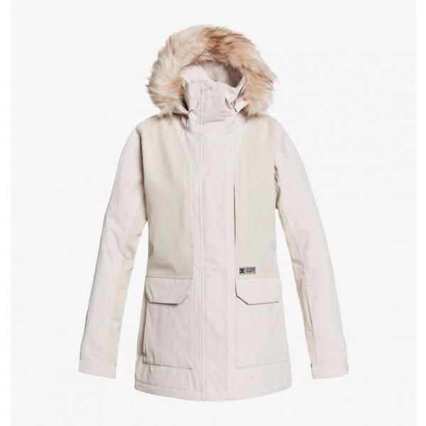 Dc Panoramic gray morn sfm 2021 chaqueta de snowboard de mujer