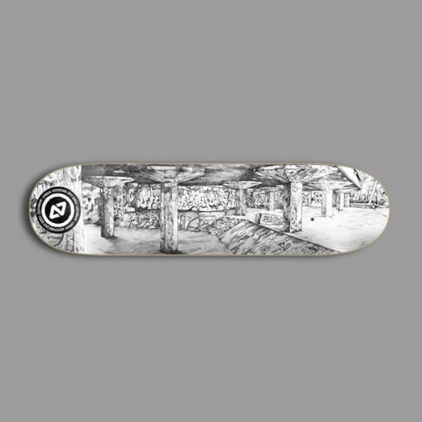 "Hydroponic Spot Southbank 8,125"" tabla skateboard"