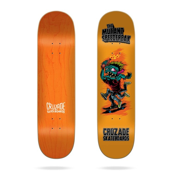 "Cruzade The Mutant Speedfreak 8"" tabla skateboard"