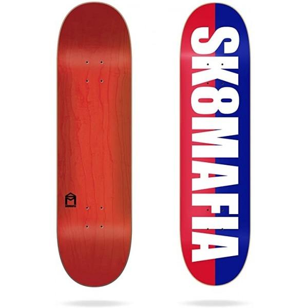 """Sk8mafia OG Logo Split White 8.1"""" Tabla de skate"""