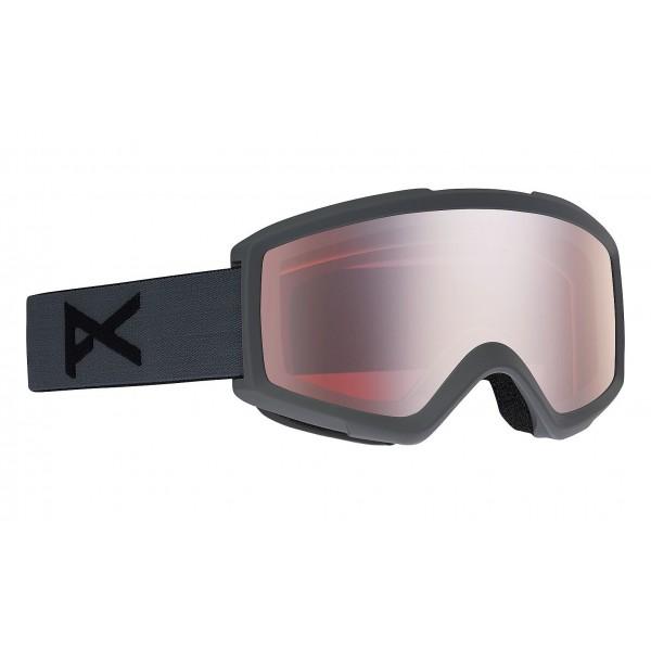 Anon Helix stealth silver amber 2021 gafas de snowboard