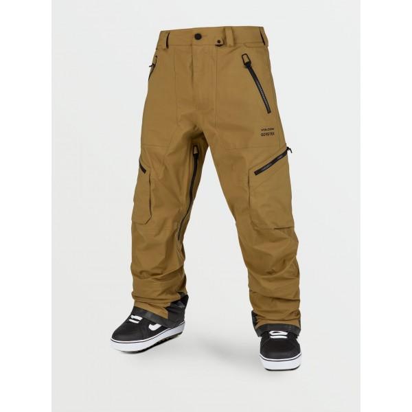 Volcom Guch stretch gore-tex burnt khaki 2021 pantalón de snowboard