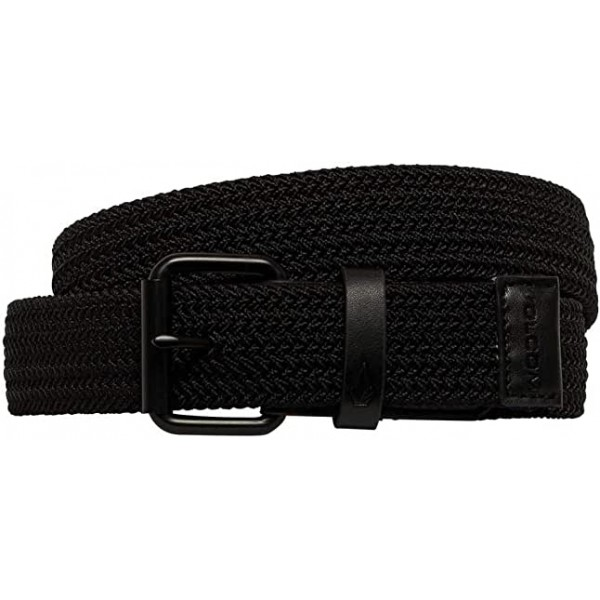 Volcom Stoned Krupa black 2021 cinturón elástico