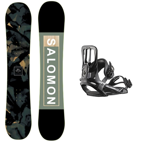 Salomon Subject + Salomon Maker 2020 Pack de snowboard