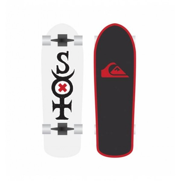 Quiksilver Surfers Of Fortune Surfskate Completo