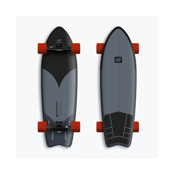Hydroponic Surf black 2.0 30,875'' Surfskate completo