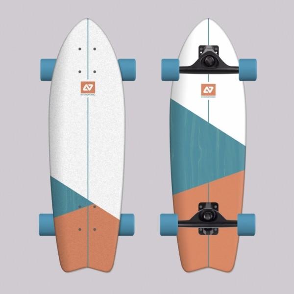 Hydroponic Vortex Surfskate completo